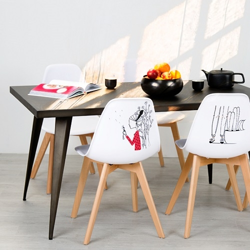 chaise artiste figurine RDV DECO