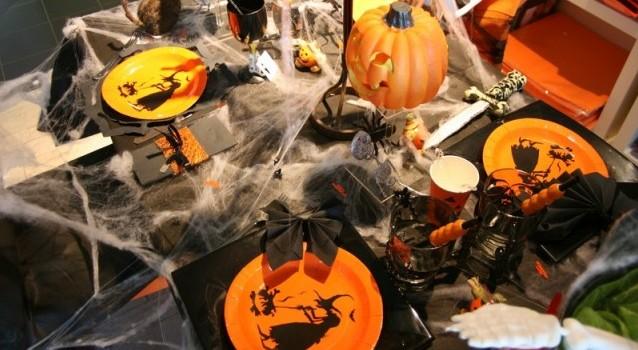 intérieur style halloween