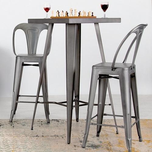 tabouret de bar design indus