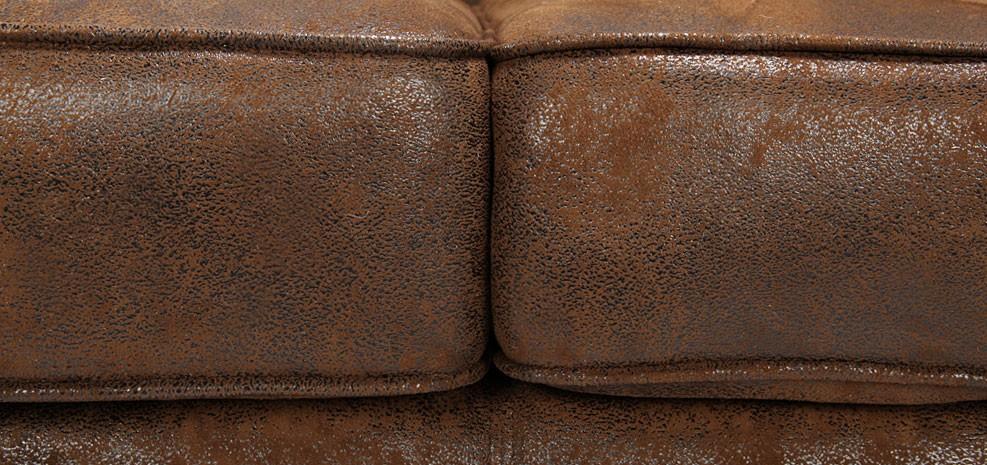 fauteuil microfibre marron vieilli. Black Bedroom Furniture Sets. Home Design Ideas