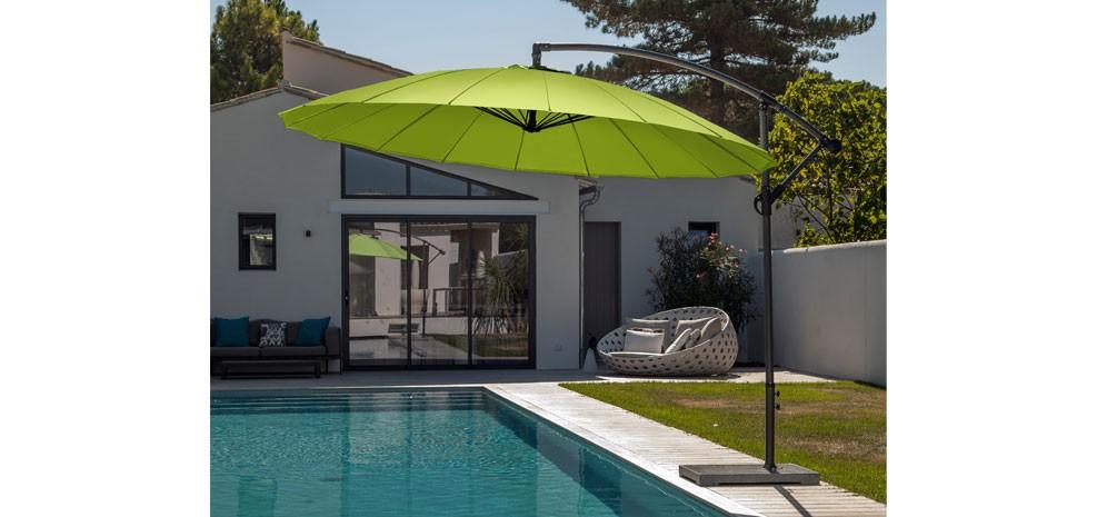 parasol déporté design