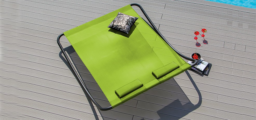 rocking bed de jardin design