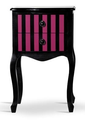 chevet style boudoir rose